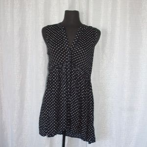 Anthropologie Polka Dot Tank Dress | Medium